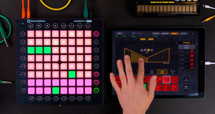 Crea música con apps Novation e integra hardware MIDI & Audio, expo en FutureMusic media[LAB]