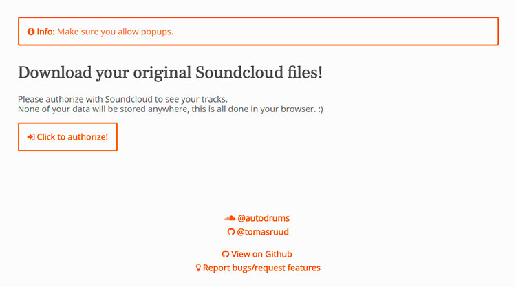 ruud soundcloud downloader