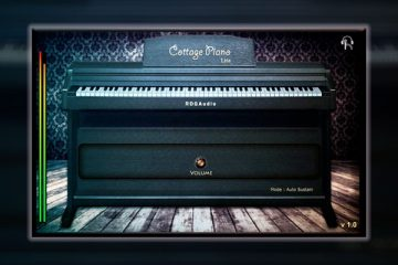 Descarga el piano virtual gratis de bajo consumo Cottage Piano Lite
