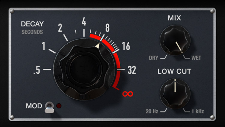 SoundToys Little Plate, detalle del panel