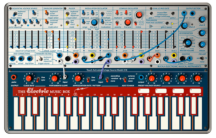 Arturia V Collection 6: Buchla Music Easel V_750px