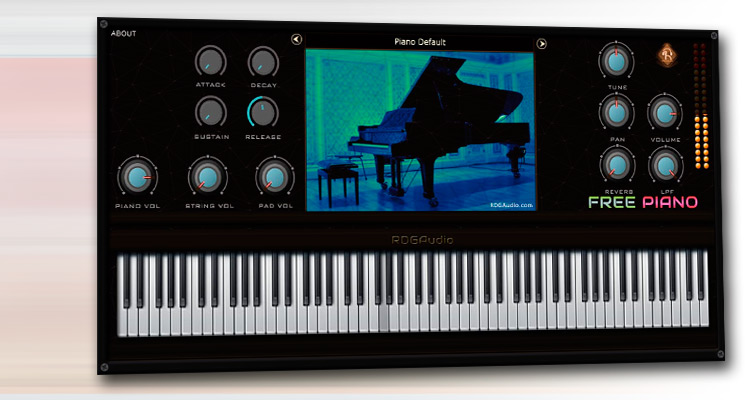 ¡A descargar piano virtual gratis! RDG Audio Free Piano para PC y Mac