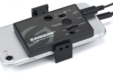 "Samson Go Mic Mobile, interface de audio ""pro"" para smartphones, tablets y cámaras"