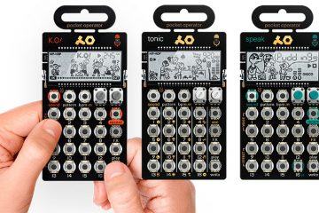 Los tres nuevos Pocket Operator Metal Series de Teenage_Engineering
