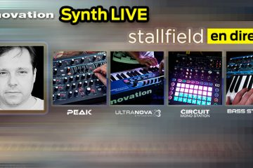 Novation Synth Live: Stallfield en directo | Jueves, 5 de Abril - 19:00h | FutureMusic media[LAB]