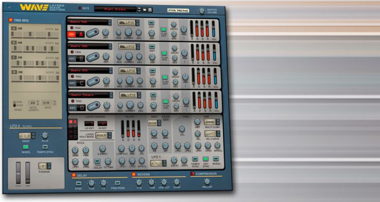 Propellerhead resucita el sintetizador mítico Waldorf Wave con el Rack Extension Layers Wave Edition