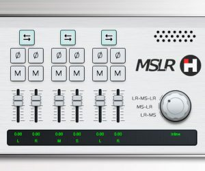 Plugin Mid/Side VST gratis HASound MSLR para Windows y macOS X