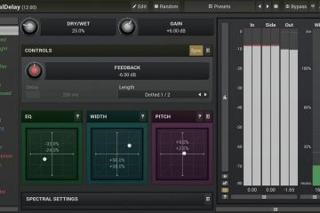 """20 Plugins delay en uno"" GRATIS con MeldaProduction MSpectralDelay"
