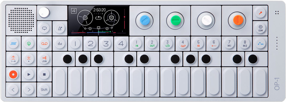 Teenage Engineering OP-1 es tan cautivador como bello y poderoso