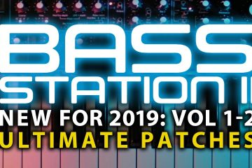 Novation Bass Station II: Banco de sonidos Master Collection (Vol 1 & 2) de Ultimate Patches