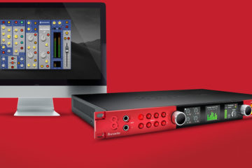 Brainworx bx_console Focusrite recrea el sonido de ISA 110 EQ e ISA 130 Dynamics -gratis para usuarios de interfaces Clarett o Red