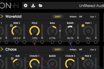 Unfiltered Audio LION es un inminente sintetizador virtual con 26 modos de oscilador
