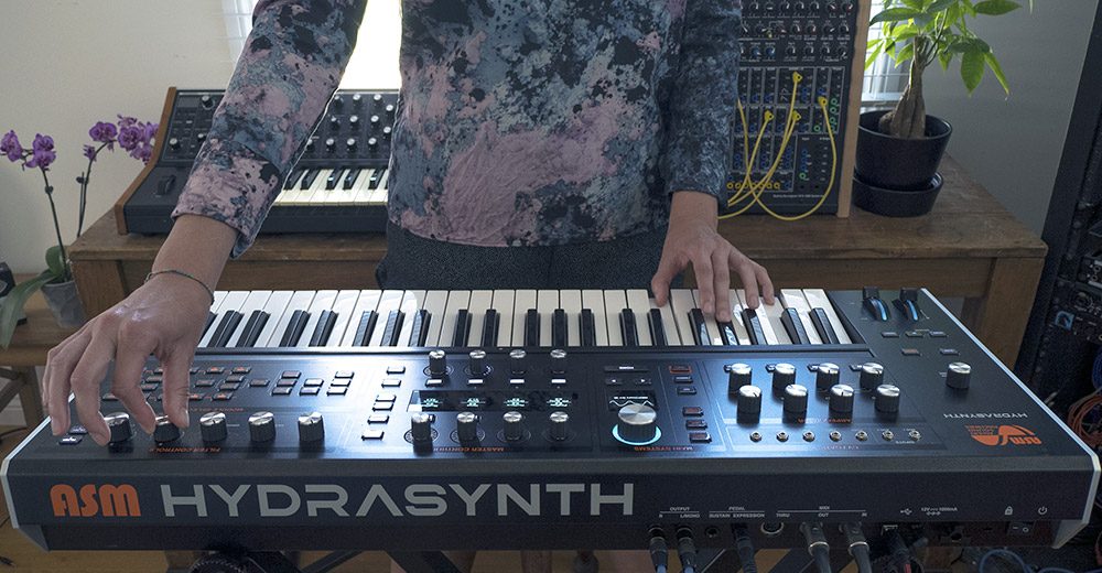 Alguien toca Ashun Sound Machines Hydrasynth