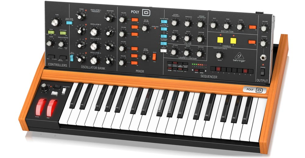 Behringer Poly D El Minimoog Polifonico Esperado Buy behringer synthesizer (poly d): future music