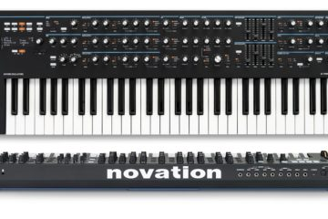Novation Summit 6, en frontal y por detrás