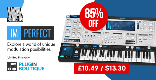 W.A Production ImPerfect Synth Sale