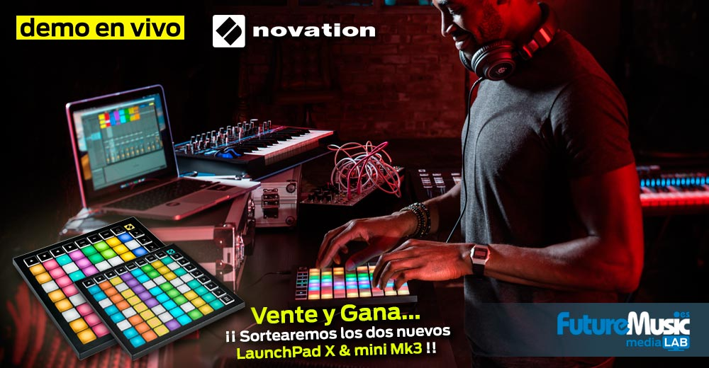 LaunchPad X y mini Mk3 | FutureMusic media[LAB] Madrid | Jueves, 19 de Diciembre, 18:30h - gratis