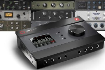 El interface Antelope Audio Zen Tour Synergy Core es revolucionario, lo mires por donde quieras