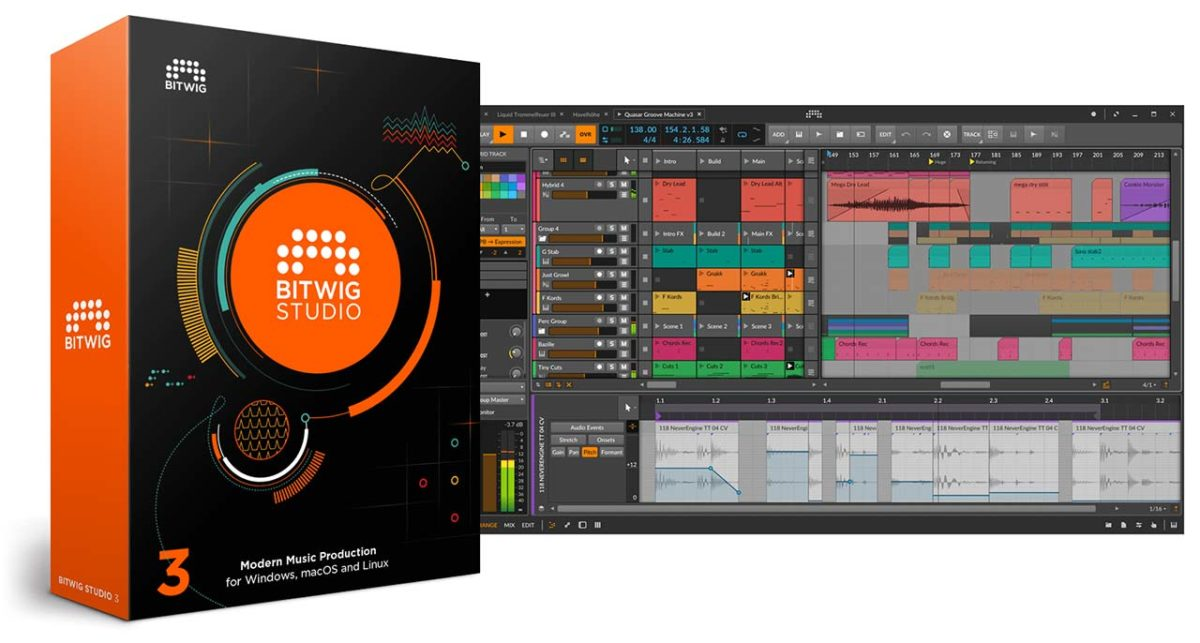 Bitwig Studio 3 gratis con los interfaces Antelope Audio Synergy Core