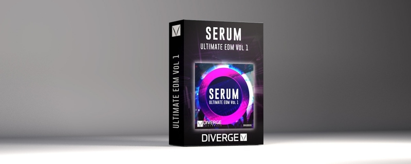 Xfer Serum Diverge Synthesis - Ultimate EDM Vol.1
