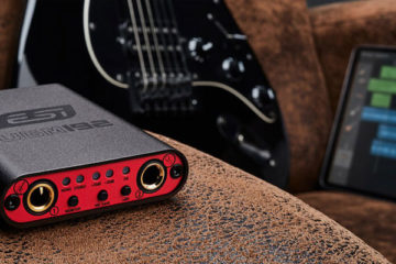 "ESI UGM192 es un asequible interface de audio USB ""ultramóvil"" para guitarra y micrófono a 24bit/192kHz"