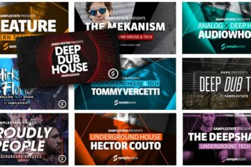 Tech House - Techno: Consigue 10GB de loops & beats frescos con la megaoferta de Samplestate Artist Bundle