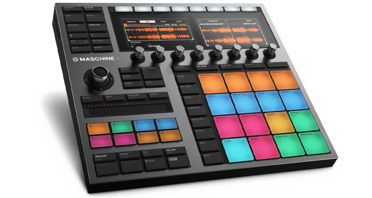 Maschine+ es la anticipada groovebox autónoma de Native Instruments
