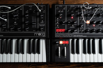 Moog Grandmother Dark y Matriarch Dark refrescan el diseño de los populares sintetizadores analógicos