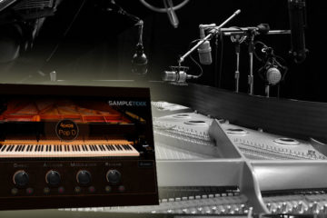El piano virtual Steinberg 4Knob PopD te aporta una exclusiva colección de hardware vintage con 5GB de samples