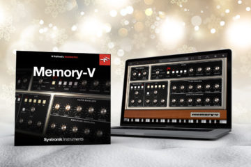 "Descarga gratis IK Multimedia Memory-V -un sinte virtual que te da seis Moog en uno ""by the face"""
