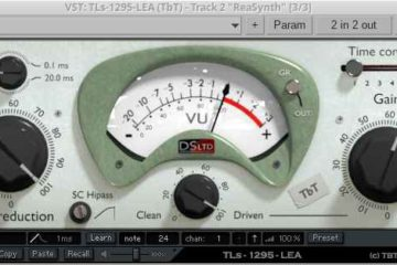 El plugin compresor gratis TLS 1295 LEA regresa en VST 64bit para Windows y Linux