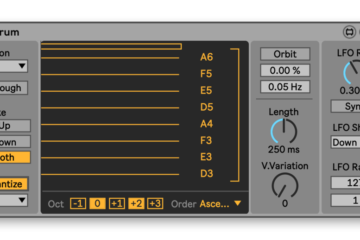 Strum es un original dispositivo Ableton M4L para disparo manual de arpegios desde tu controlador