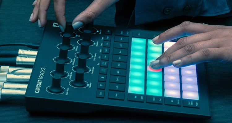 ¡Jam en directo! Novation Circuit Tracks con cinco actuaciones en vivo