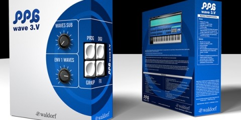 Sintetizador virtual Waldorf PPG Wave 3.V