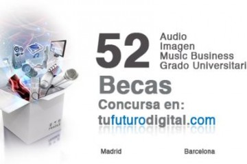Tu Futuro Digital -becas para estudiar audio en SAE