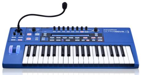 El sinte Novation UltraNOVA incorpora un versátil vocoder