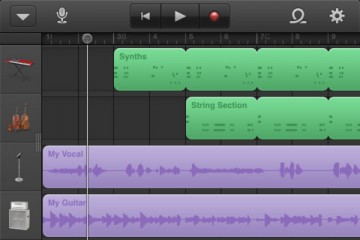 Apple GarageBand 1.1, también para iPhone e iPod touch