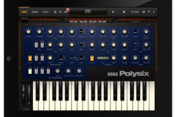 Korg iPolysix para Apple iPad