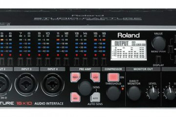 Roland presenta el interface de audio Studio Capture en Winter NAMM 2013