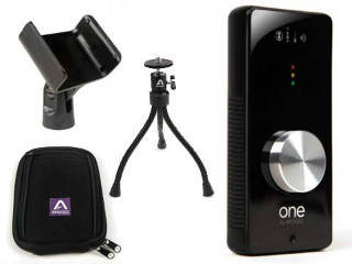 Interface para grabación de audio con accesorios, Apogee One Bundle