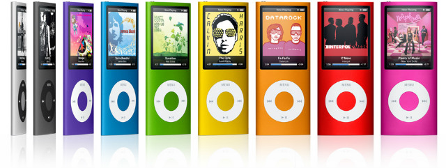 iPod, reproductores MP3 de Apple
