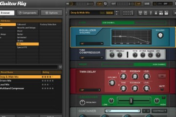 Native Instruments Guitar Rig 5 Player: este impresionante software gratuito viene cargado de efectos para guitarristas y no-guitarristas