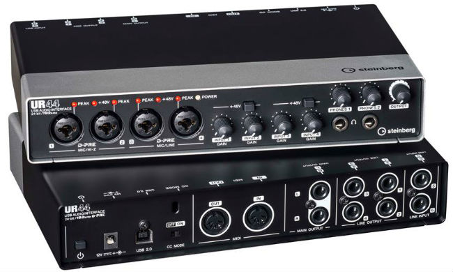Interface de audio Steinberg UR-44