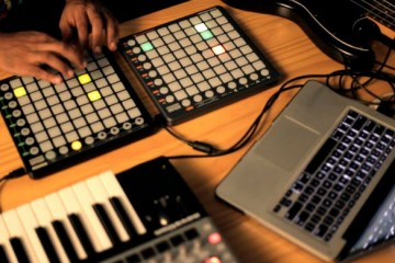 Halux trabaja su tema Take Me Out con tecnología MIDI de Novation
