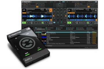 Native Instruments Traktor Audio 2 es, posiblemente, el interface de audio más pequeño del mundo